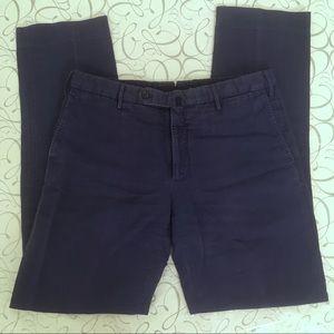 Incotex   Slim Fit Linen Chinos 34Wx32L